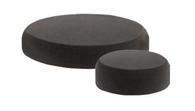 CS Leštící houba černá 150x25mm s.zip