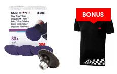 3M Akce Cubitron 2 kotouče 30ks, Roloc a 3M tričko XL