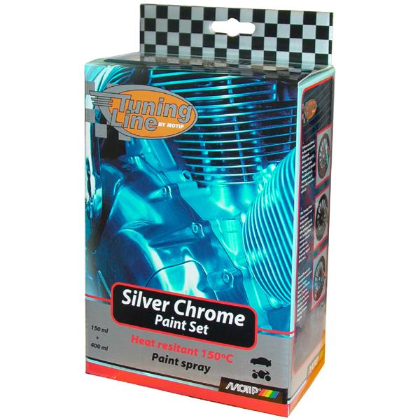 Motip Silver Chrom, sada