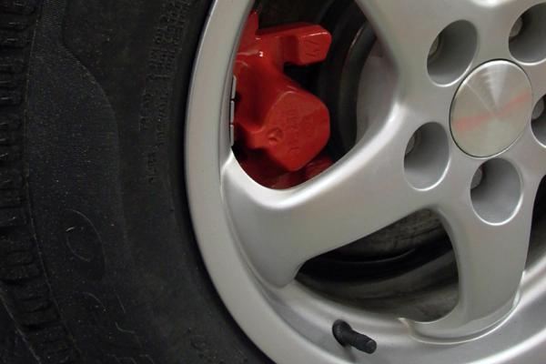 Motip Červená barva na brzdy, Spray 400ml