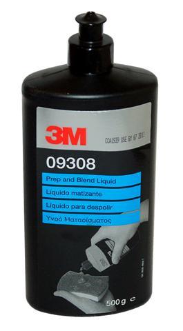 3M 9308 Prep Blend, matovací tekutina