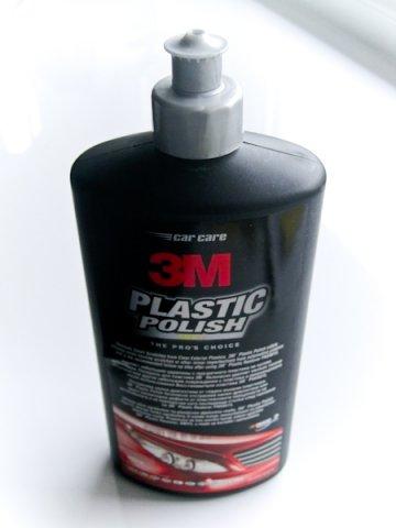 3M Plastic restorer brusná pasta k sadě na renovaci světel 1.krok 500ml 59015