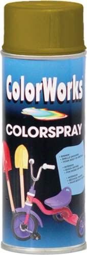 ColorWorks zlatý Spray 400ml