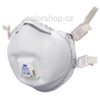 3M 9925 Maska pro svařování FFP2 s ventilkem