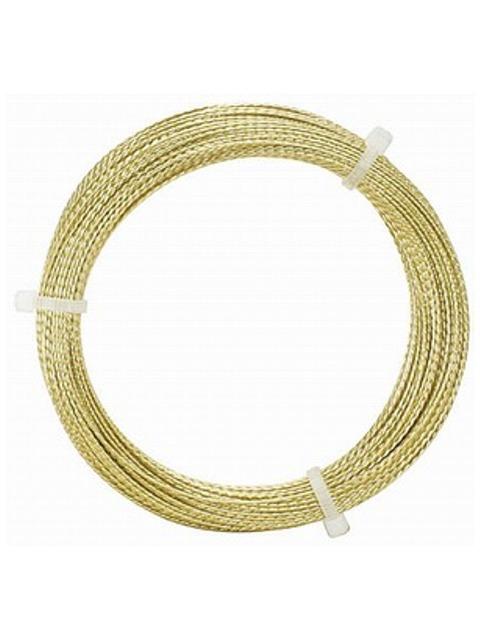 Dinitrol Struna vyřezávací zlatá 22m
