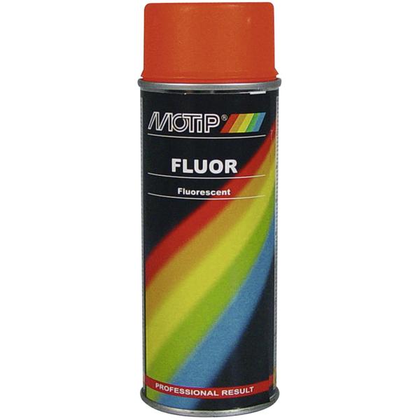Motip Fluor Signální červeno-oranžová Spray 400ml