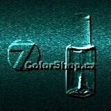 VW tužka barva LB6W 2001 - 2005 PINIENGRUEN