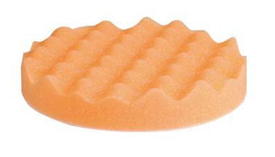 Leštící houba Waffle oranžová 135x25mm s.zip