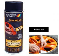 Motip SprayPlast černá fólie mat ve spreji 400ml