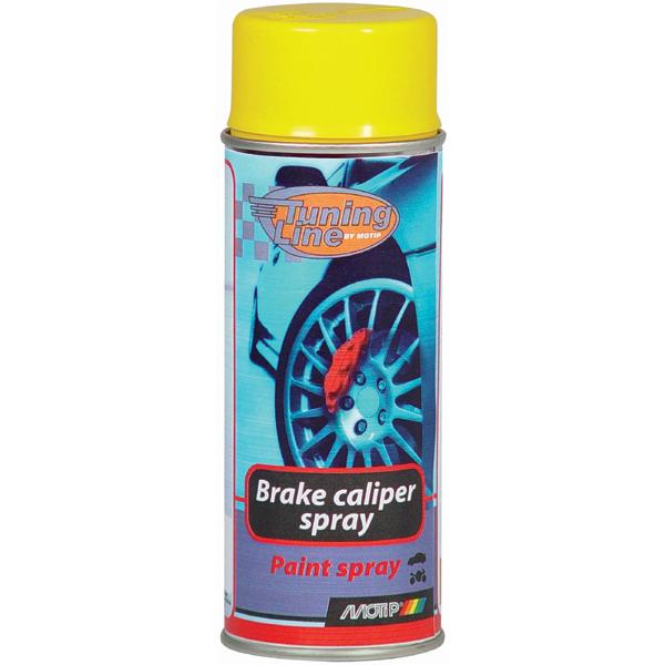 Motip Žlutá barva na brzdy, Spray 400ml