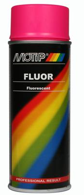 Motip Fluor signální růžová Spray 400ml