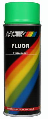 Motip Fluor signální zelená Spray 400ml
