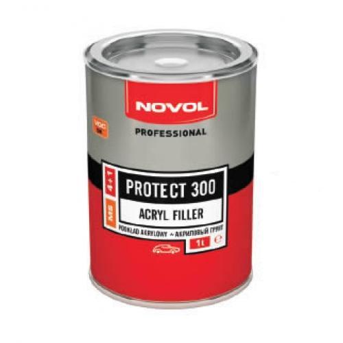 Novol Protec 300 plnič 4:1 červený 1l