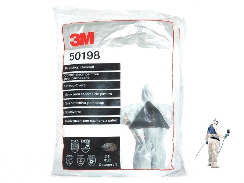 3M 50198 Kombinéza pro lakýrníky L