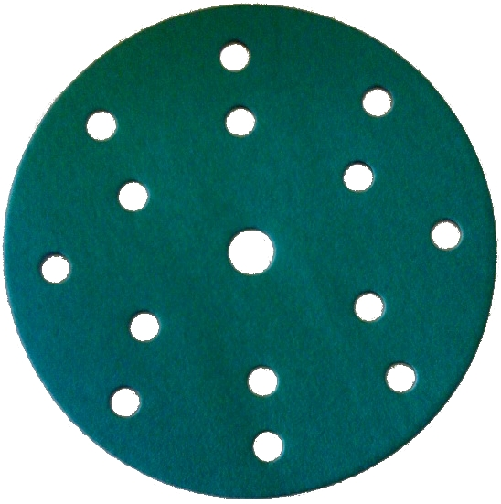 CS Sandpaper D150mm P500 Velcro 15 holes