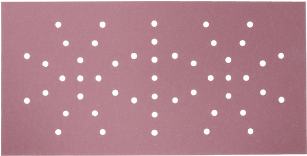 SiaSpeed Sandpaper 115x228, Velcro, 49 holes, P80