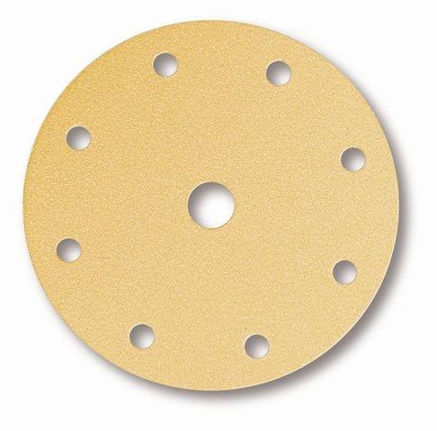Mirka Gold brusný papír D150mm 9 děr s.zip P150