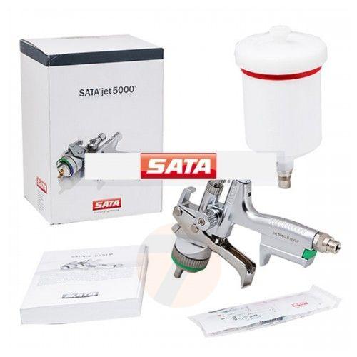 Satajet 5000 B HVLP 1.3 Spray Gun, Cup QCC 0.6ltr