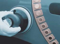 Magnetický pás ochrana proti probroušení.