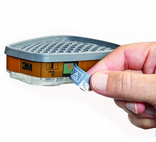Filtr proti plynům a výparům 3M - 6055i s indikátorem