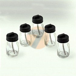 SATA sada skleněných nádobek s víčkem 5ks