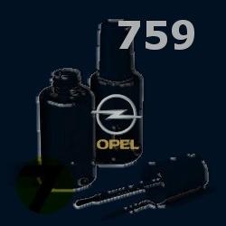 OPEL - 759 - DARK REGATTA modrá barva - retušovací tužka