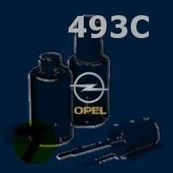 OPEL - 493C - AEGEAN BLUE modrá barva - retušovací tužka