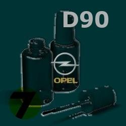 OPEL - D90 - MOOSGRUEN zelená barva - retušovací tužka