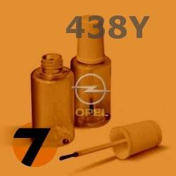 OPEL - 438Y - ORANGE ALERT MANDARINA oranžová barva - retušovací tužka