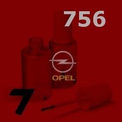 OPEL - 756 - RADIANT RED červená barva - retušovací tužka