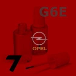 OPEL - G6E - SOLAR RED červená barva - retušovací tužka