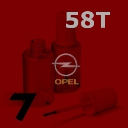 OPEL - 58T - FIRE RED červená barva - retušovací tužka
