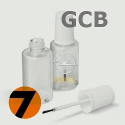 OPEL - GCB - GALAXY WHITE bílá barva - retušovací tužka