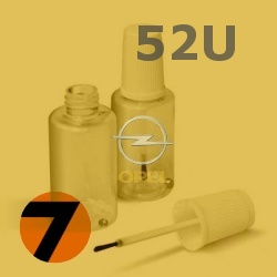 OPEL - 52U - ANANASGELB žlutá barva - retušovací tužka