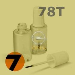 OPEL - 78T - BRIMSTONE žlutá barva - retušovací tužka