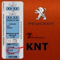 PEUGEOT KNT ORANGE POWER metalická barva Sprej 400ml