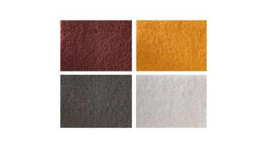 Brusná rohož 152x230mm Very Fine červená
