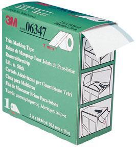 3M 6347 Krycí páska na těsnění skel 7mmx10m