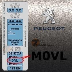 PEUGEOT M0VL GRIS PLATINIUM metalická barva tužka 20ml