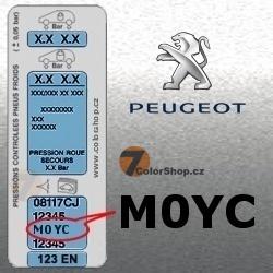 PEUGEOT M0YC GRIS QUARTZ metalická barva tužka 20ml