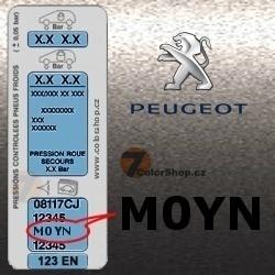 PEUGEOT M0YN GRIS FLANDRES metalická barva tužka 20ml