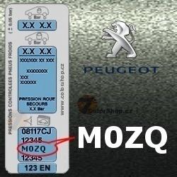 PEUGEOT M0ZQ GRIS MANITOBA metalická barva tužka 20ml