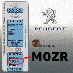 PEUGEOT M0ZR GRIS ALUMINIUM metalická barva tužka 20ml