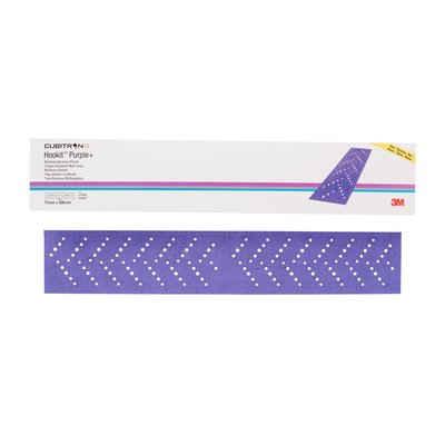 3M 51411 brusný papír hoblík P80, 70x396mm s.zip Cubitron II Hookit Purple+