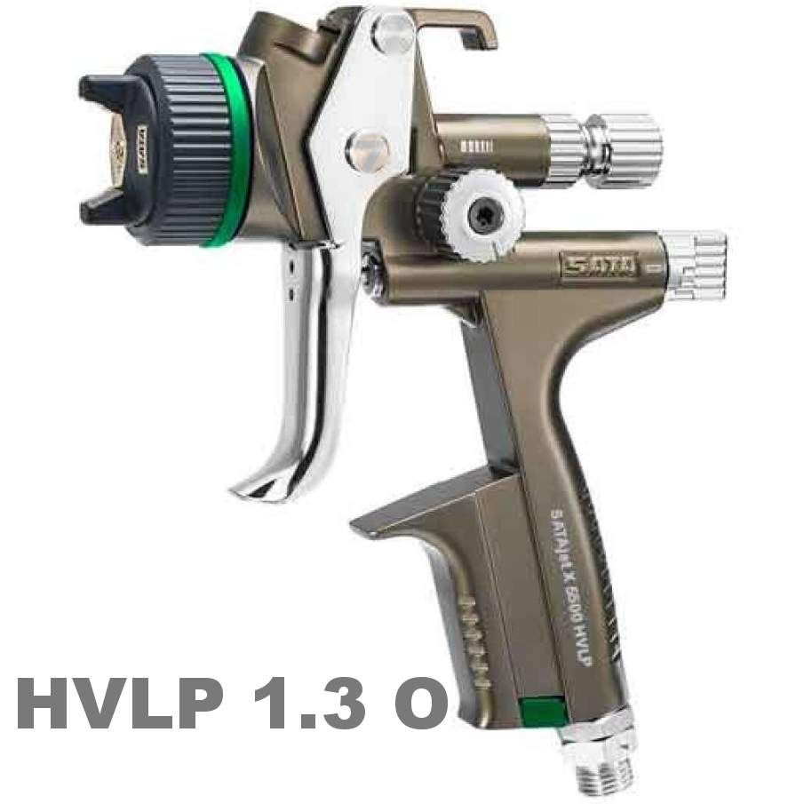 SATAjet X 5500 HVLP 1.3 O Spray Gun, Cup RPS 0.6/09 l, swivel joint