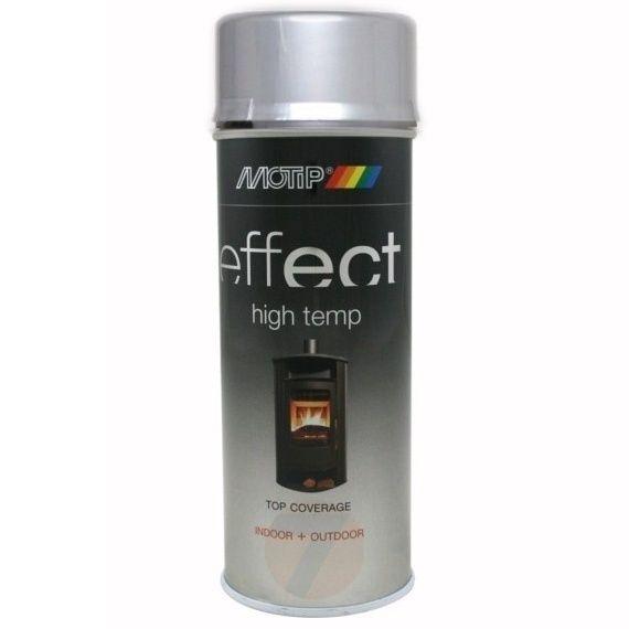 Motip Effect high temp silver 800°C spray 400 ml