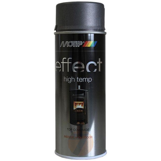 Motip Effect high temp black 800°C spray 400 ml