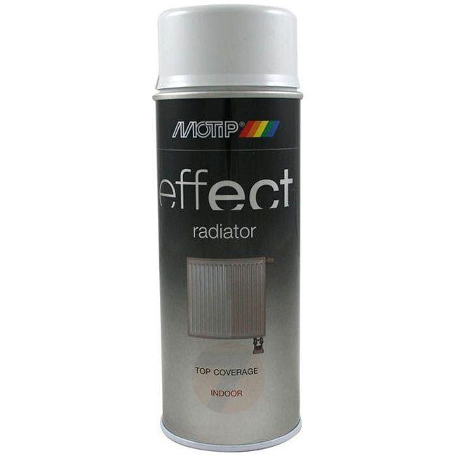 Motip Effect radiator white gloss spray 400 ml