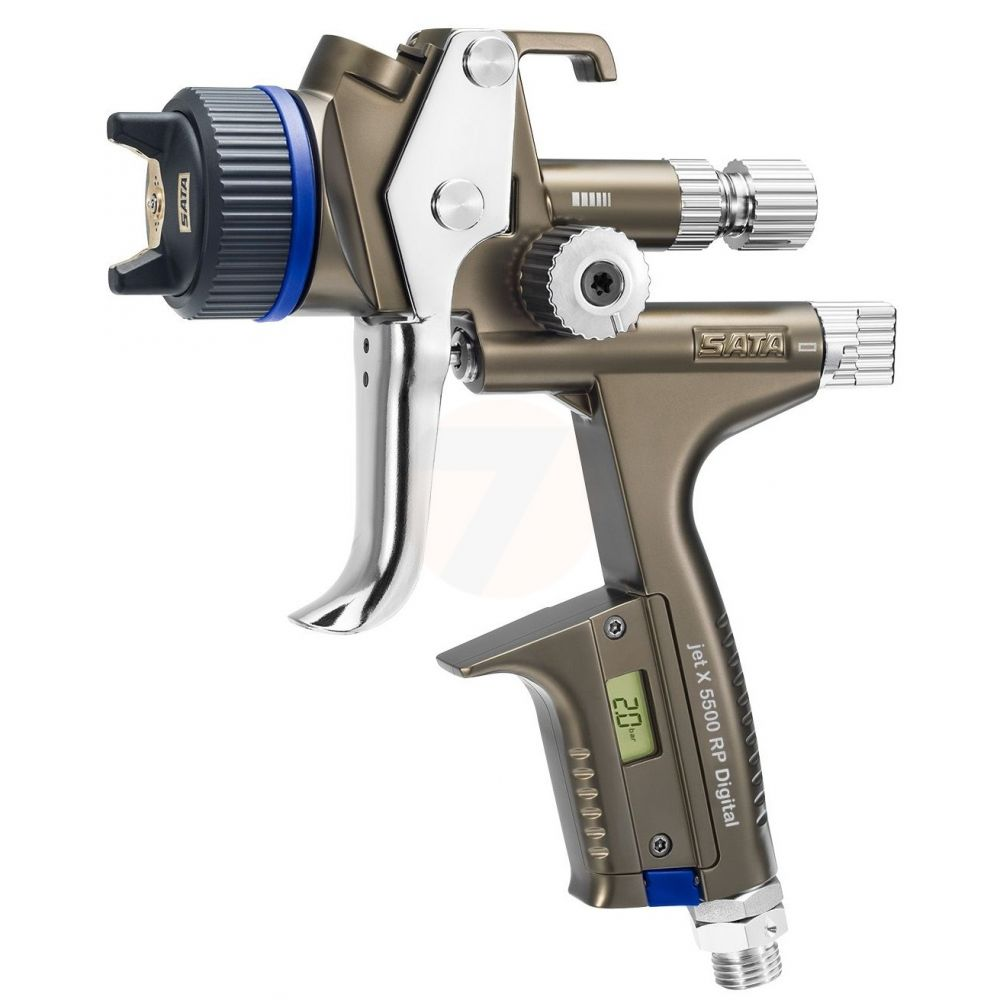 SATAjet X 5500 RP Digital 1.3 I Spray Gun, Cup RPS 0.6/09 l, swivel joint