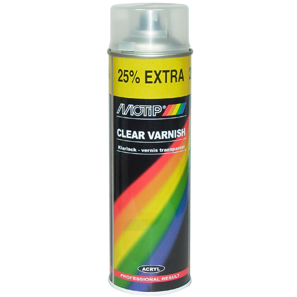 Motip RALLYE CLEAR VARNISH Spray 500 ml